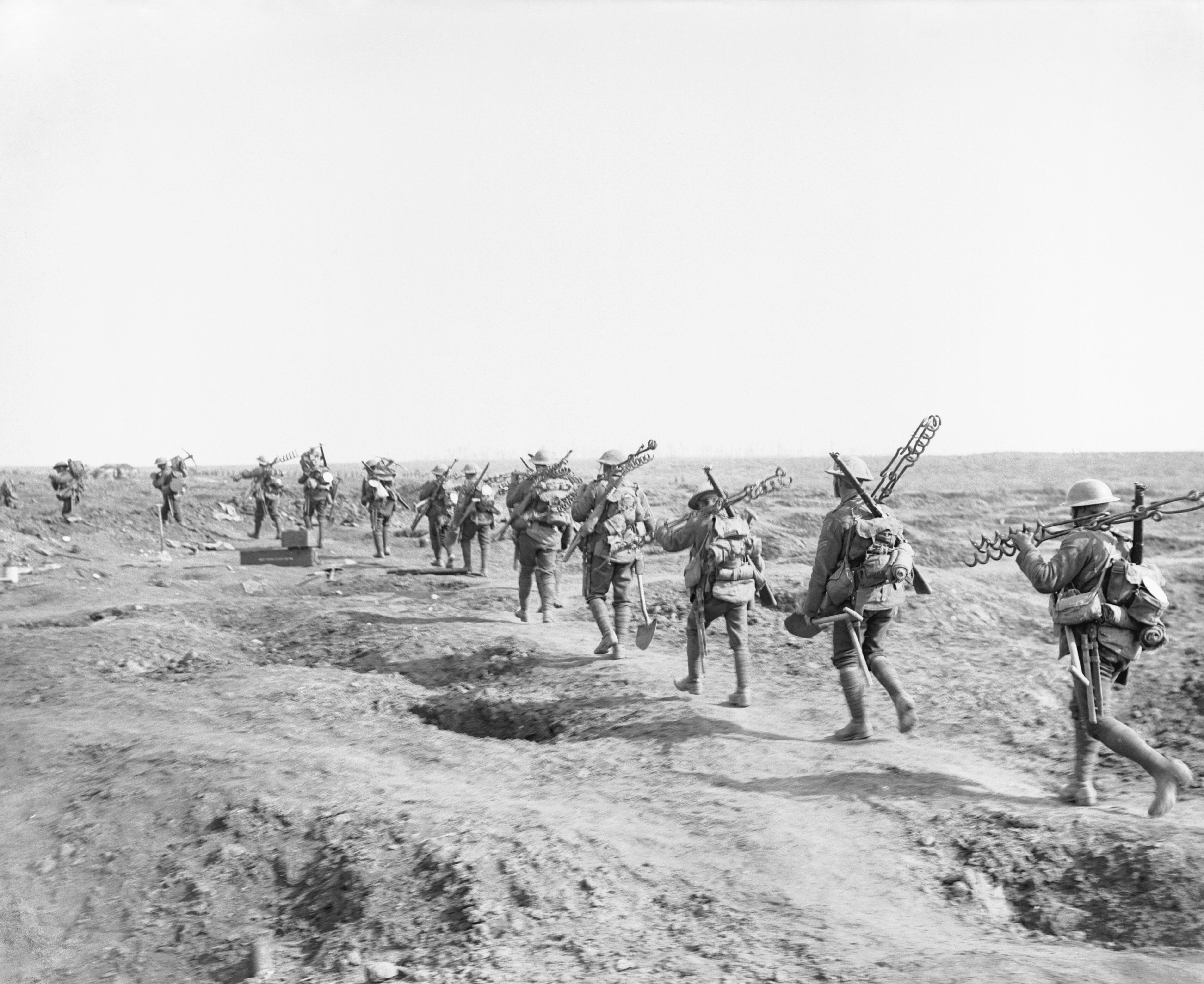 FileBritish wiring party Battle of Morval 25-09-1916 IWM Q 4288 : british wiring - yogabreezes.com
