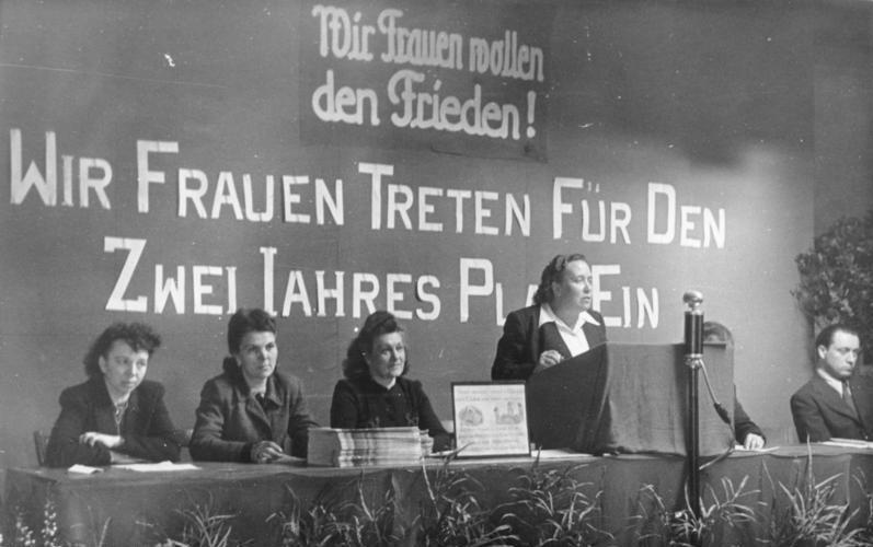 Интернациональный день женщин - Берлин 1948