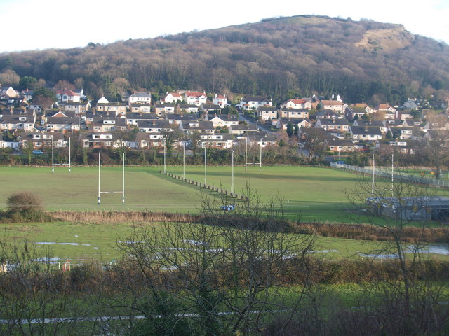 File:Caeau rygbi - Rugby pitches - geograph.org.uk - 1635974.jpg