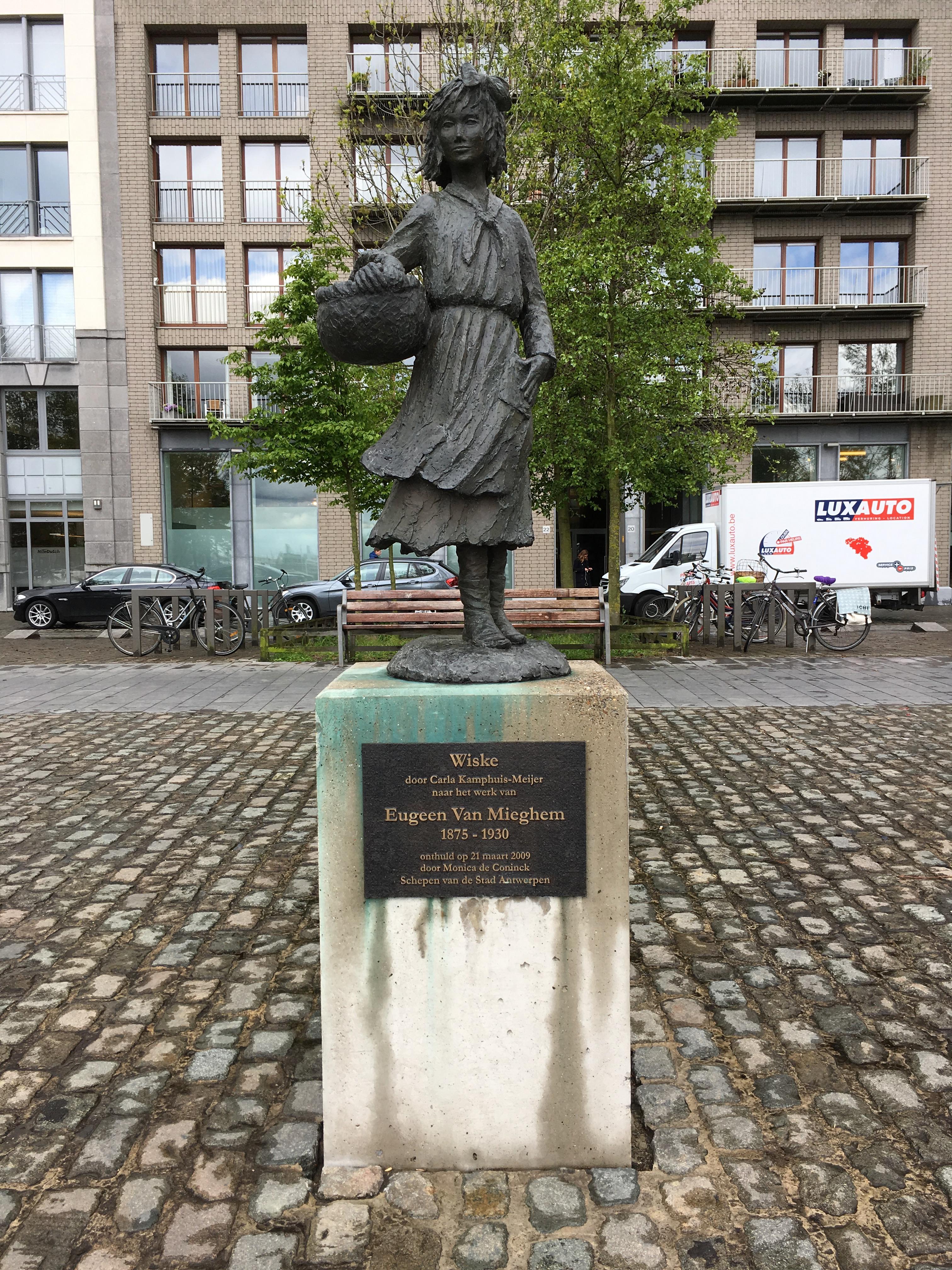 File:Carla Kamphuis-Meijer en Eugeen Van Mieghem - Wiske - Antwerpen