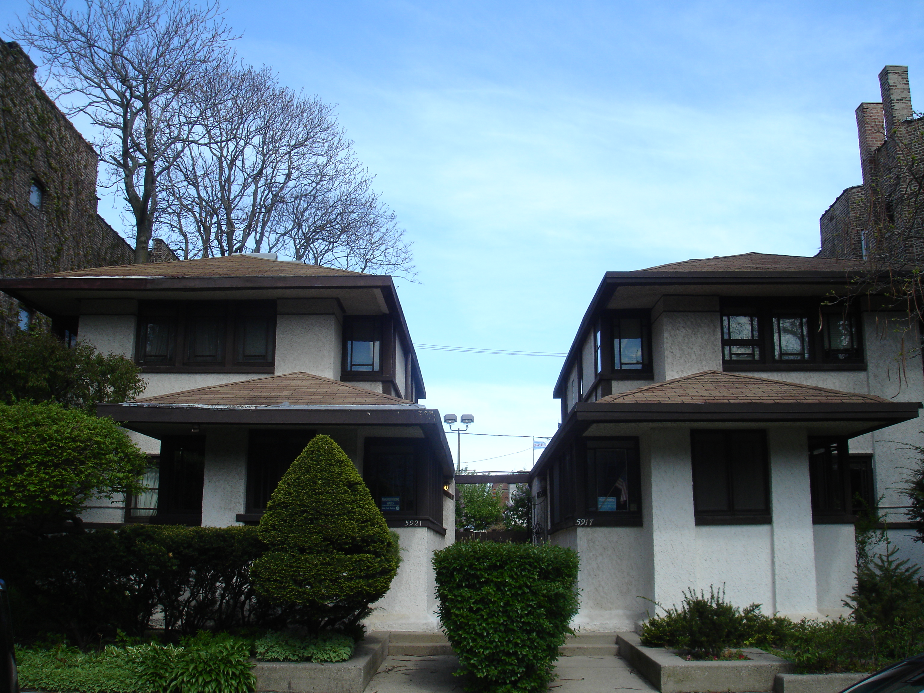 FileChicago Illinois Gauler Twin Houses 1jpg