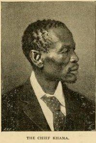 Khama III King (Kgosi) of Botswana, Ruler of the Bangwato people of central Botswana