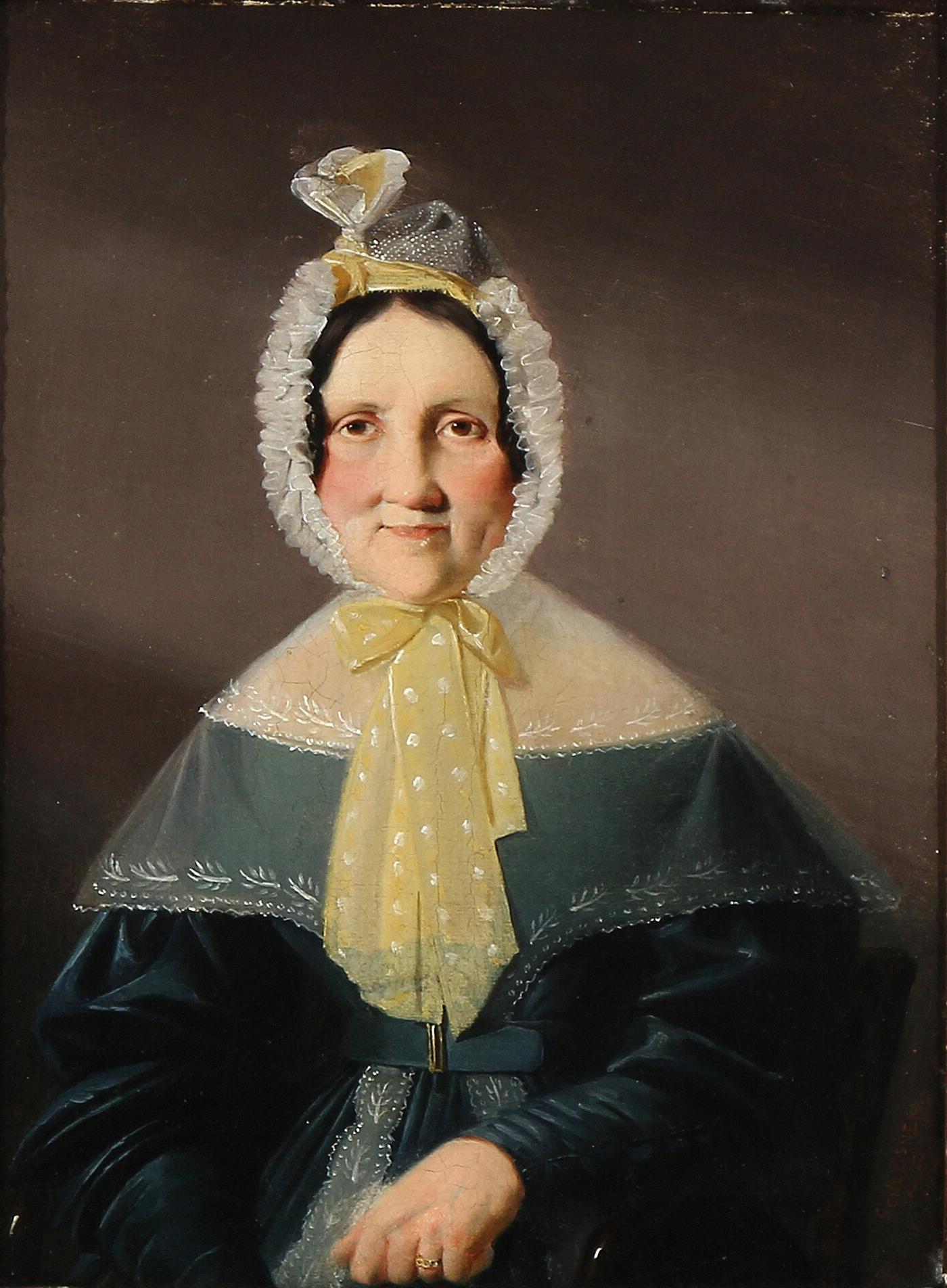007f35db543a File Christian Andreas Schleisner - Portræt af en dame iført blå kjole