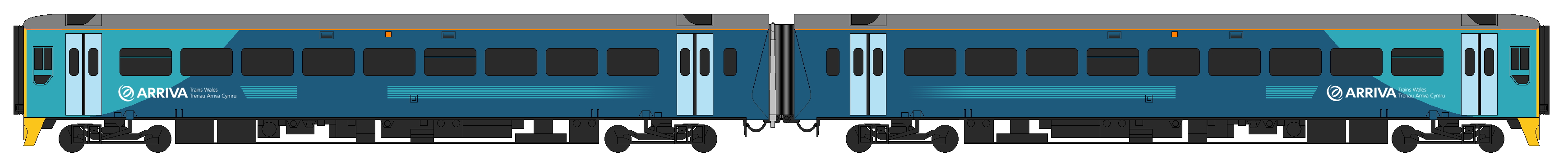 Datei Class 158 arriva    trains    wales    diagram   PNG     Wikipedia