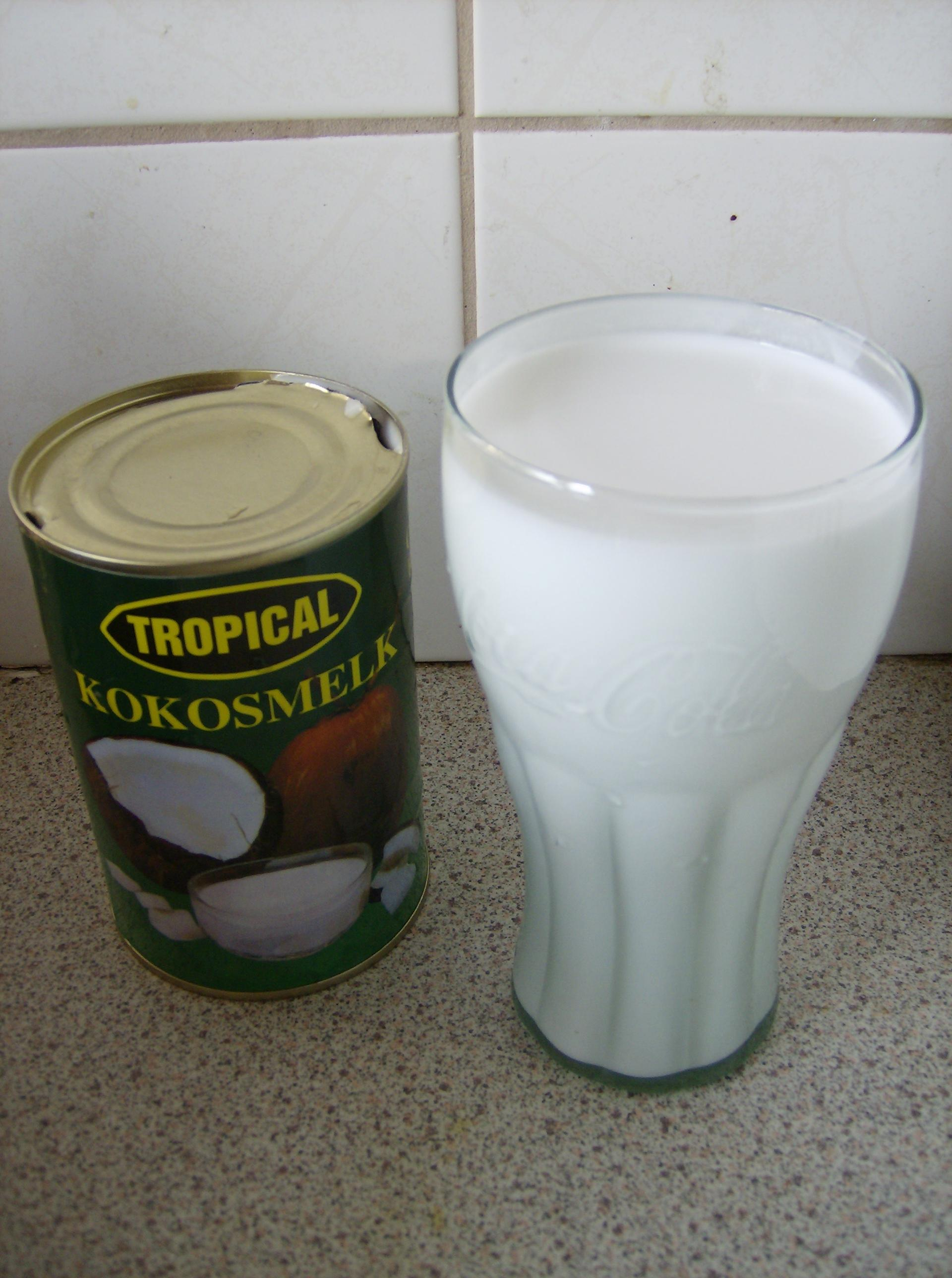Image result for coconut milk tin