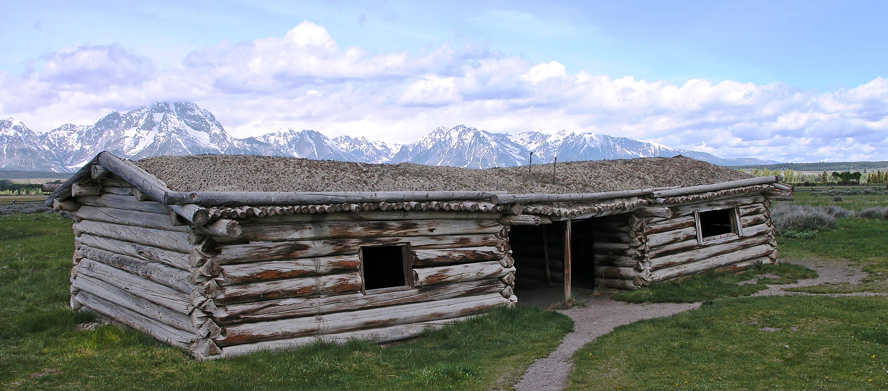 Cunningham cabin for Cabins in jackson hole