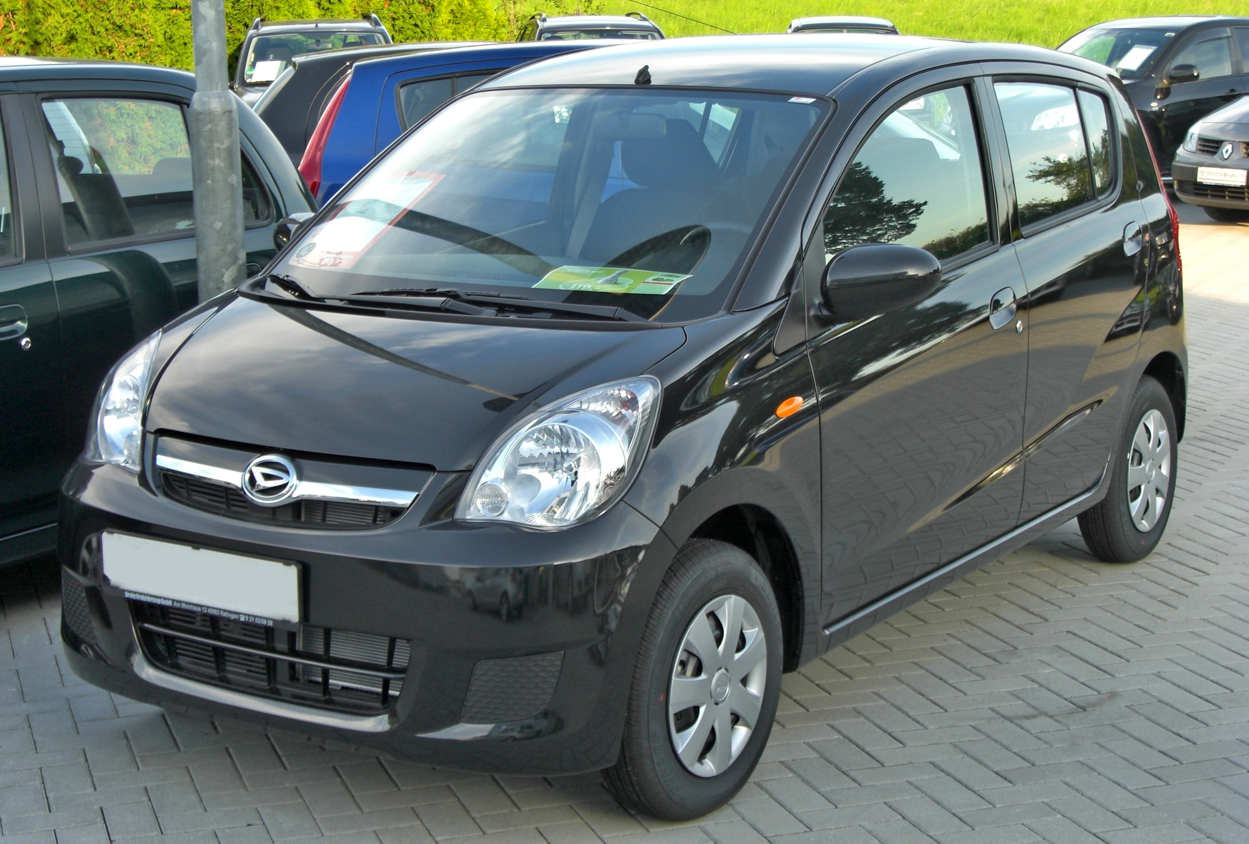 file daihatsu cuore top front jpg wikimedia commons