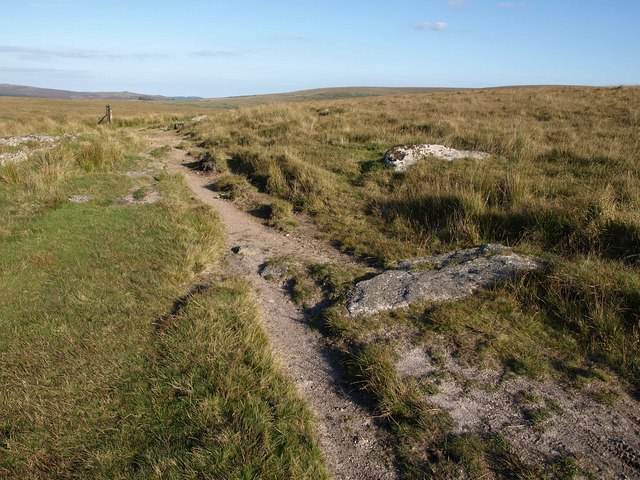 Dartmoor Way near Royal Mile - geograph.org.uk - 1501666