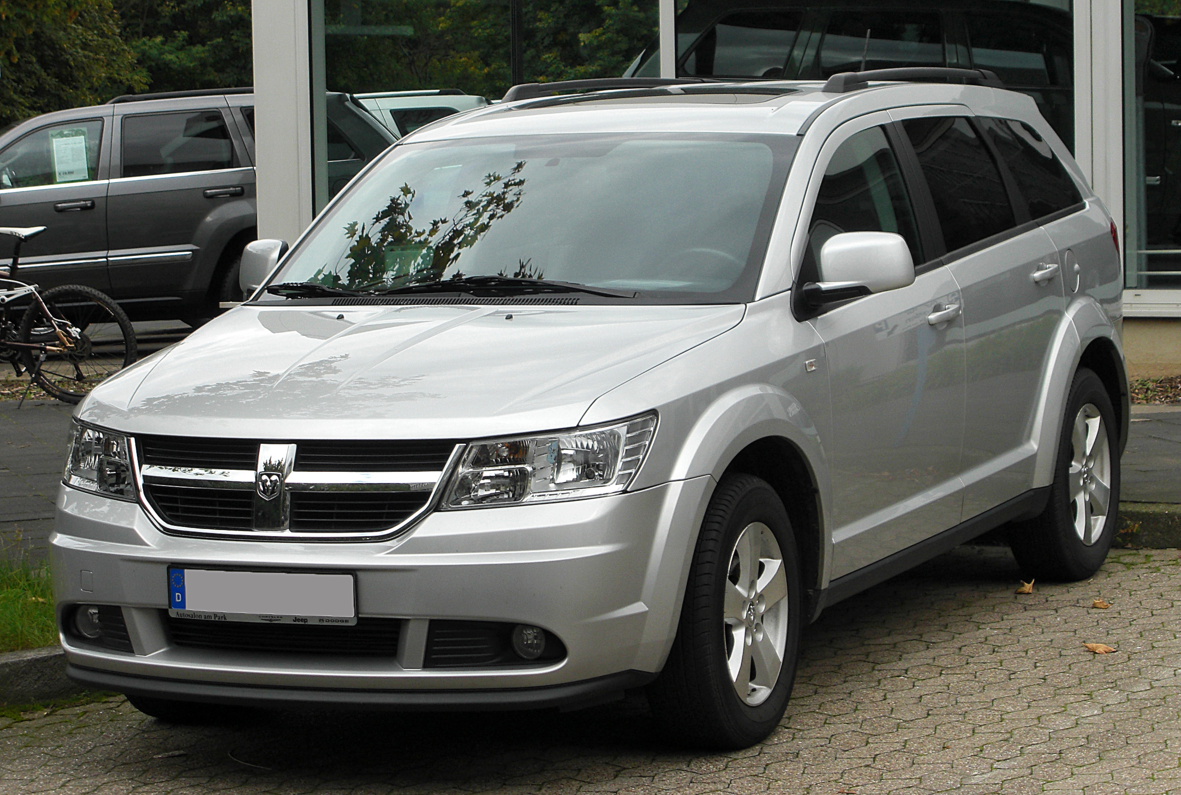 file dodge journey front wikimedia commons. Black Bedroom Furniture Sets. Home Design Ideas