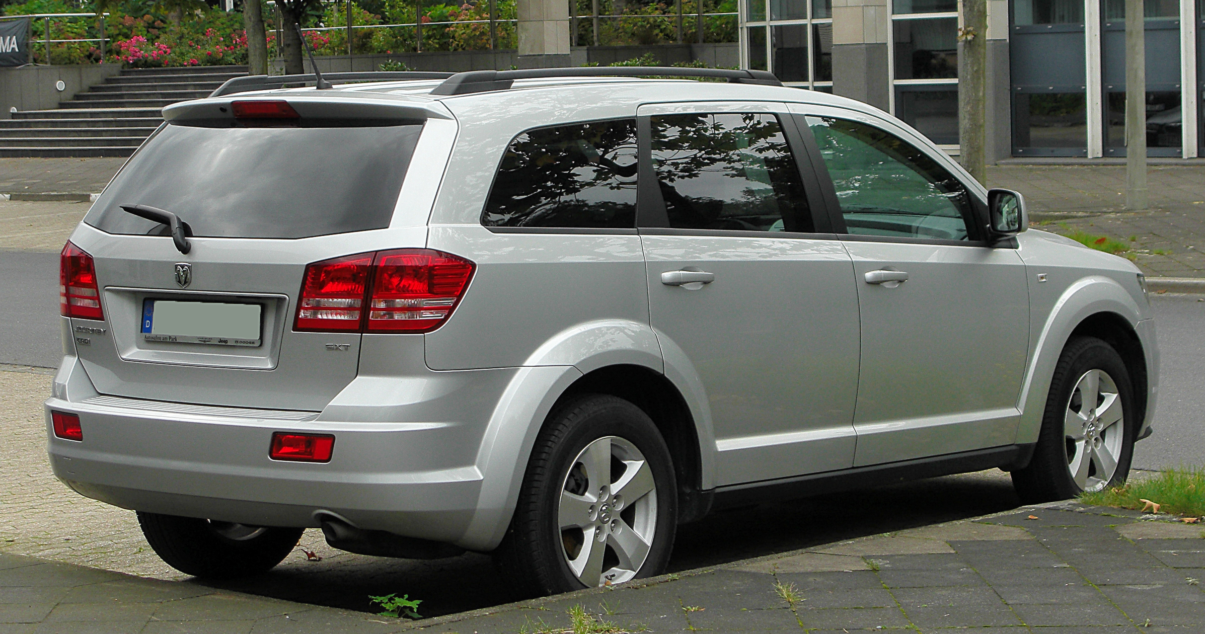 file dodge journey rear wikimedia commons. Black Bedroom Furniture Sets. Home Design Ideas