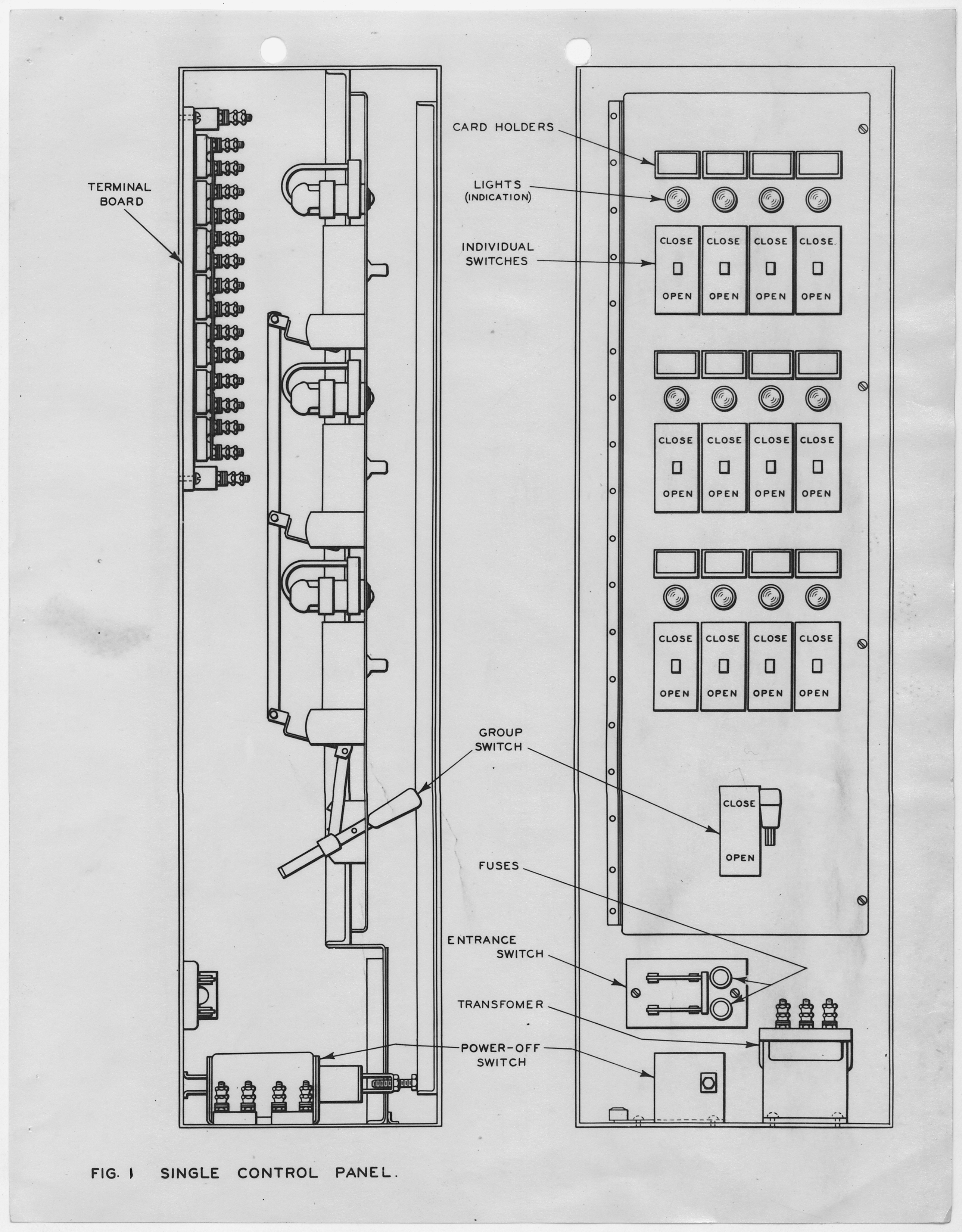 FileElectrical door locking and operating device Figure 1 Single control panel.  sc 1 st  Wikimedia Commons & File:Electrical door locking and operating device Figure 1 ...