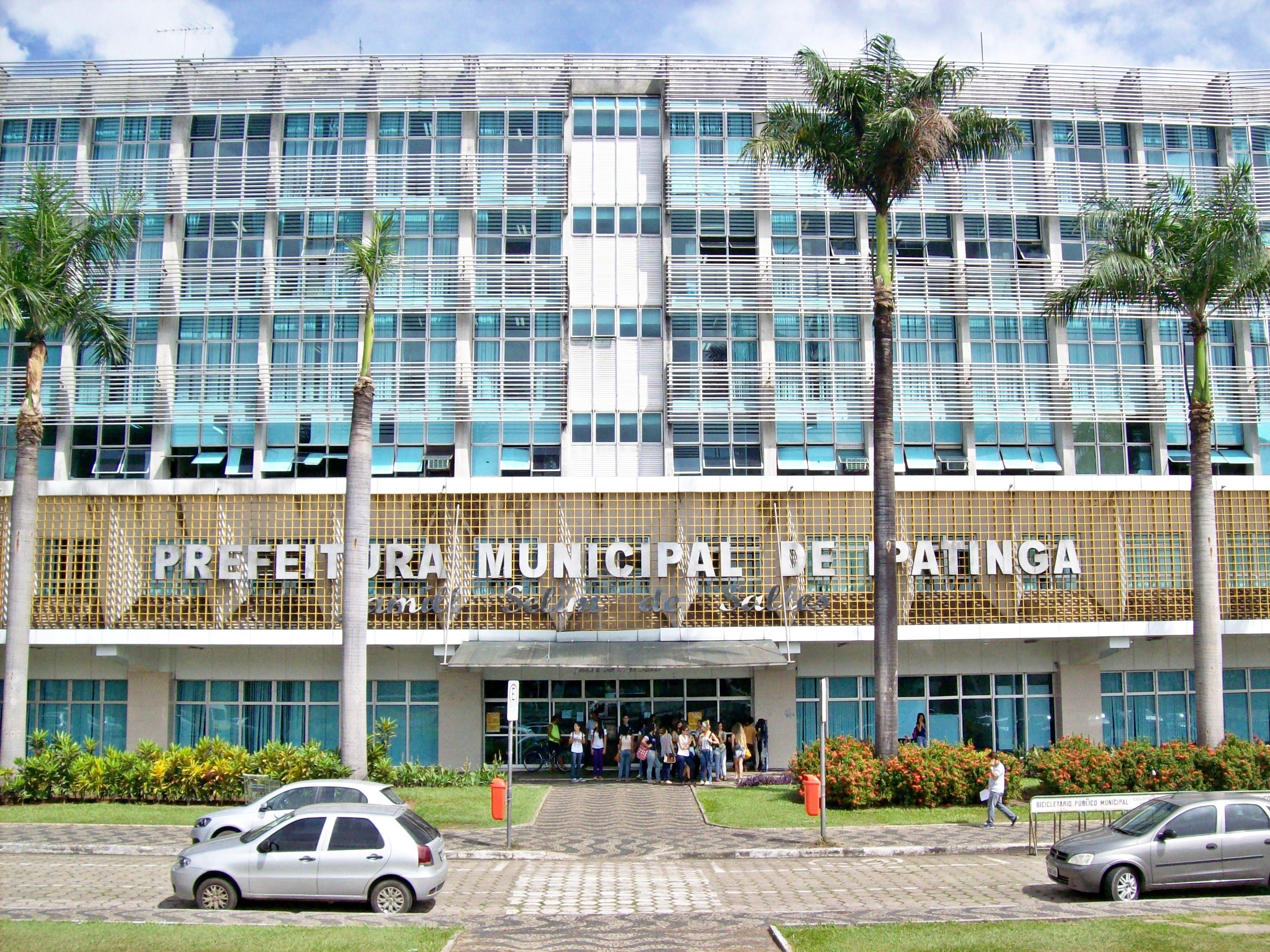 Edifcio Jamil Selim José de Sales sede da prefeitura de Ipatinga