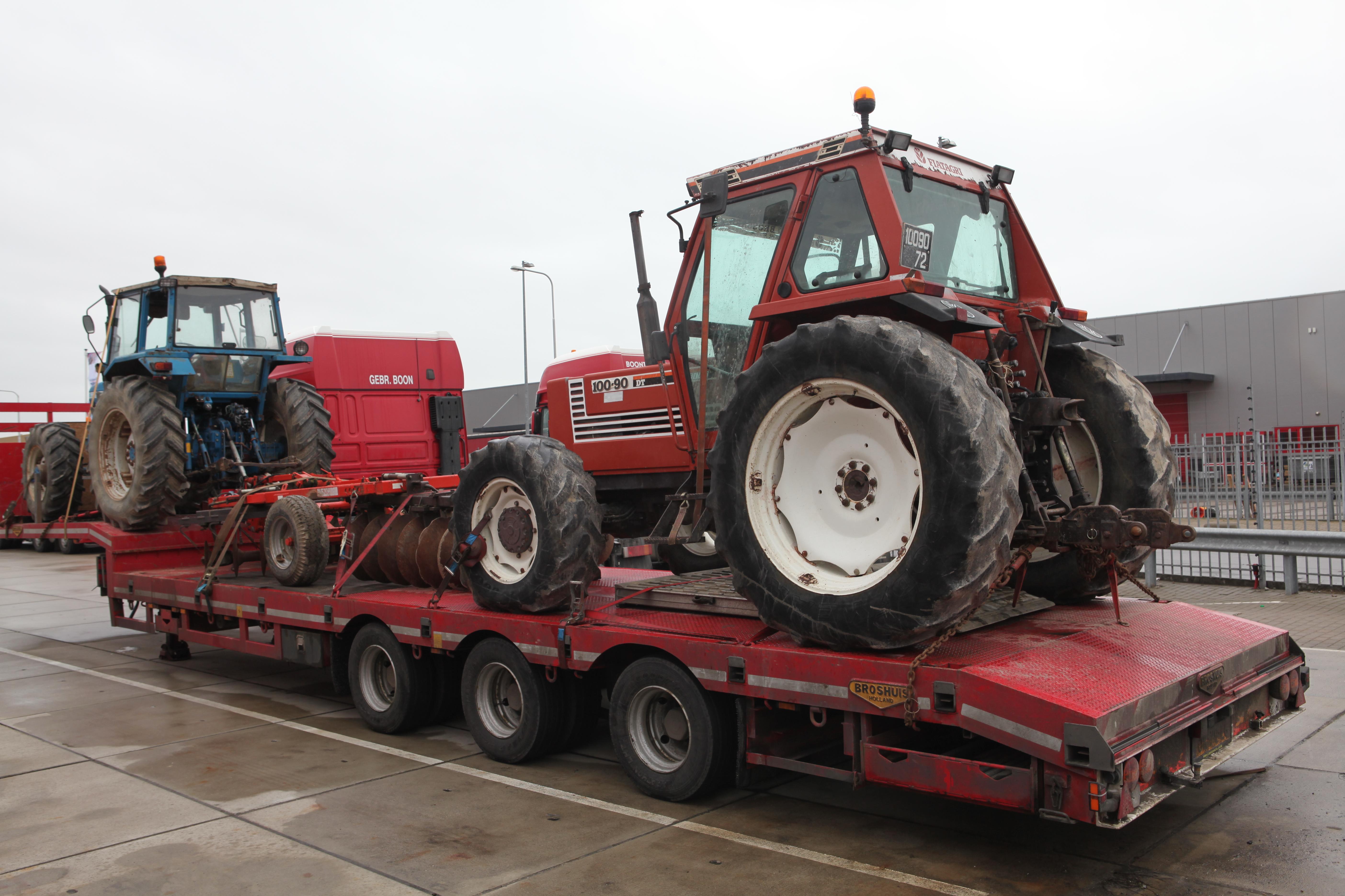 File Fiatagri 100 90 Dt Tractor Jpg Wikimedia Commons