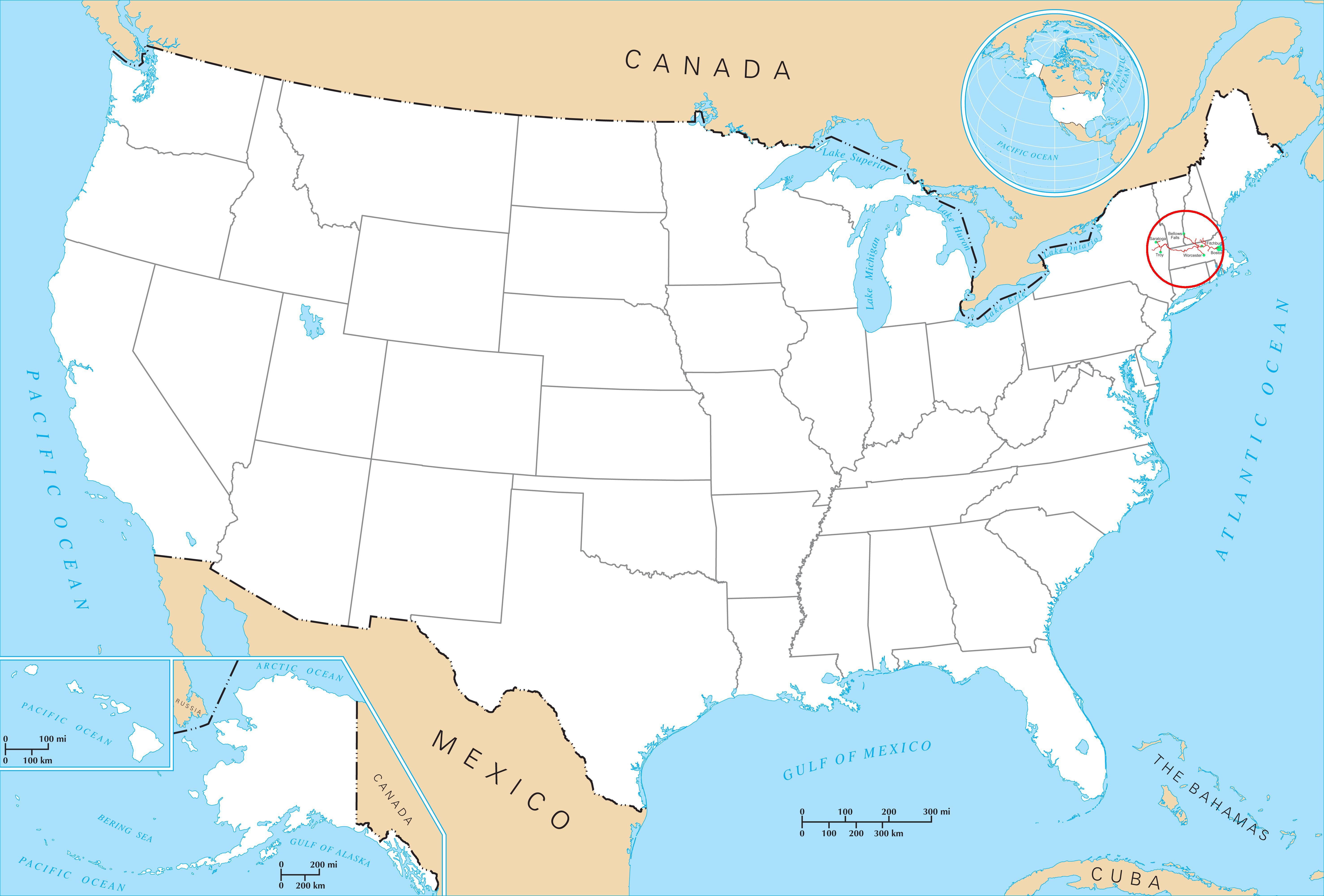 FileFitchburg On US Mappng Wikimedia Commons - Boston on us map