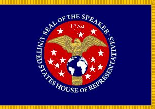 ملف:Flag of the Speaker of the United States House of