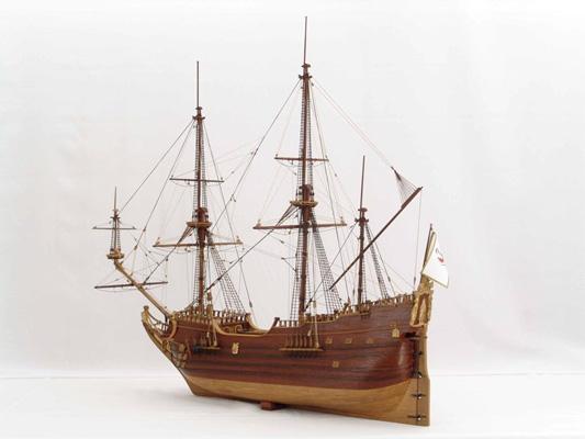 Model fluity z końca XVII w.