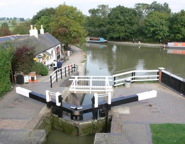 Foxton Locks Canal Basin - geograph.org.uk - 579646