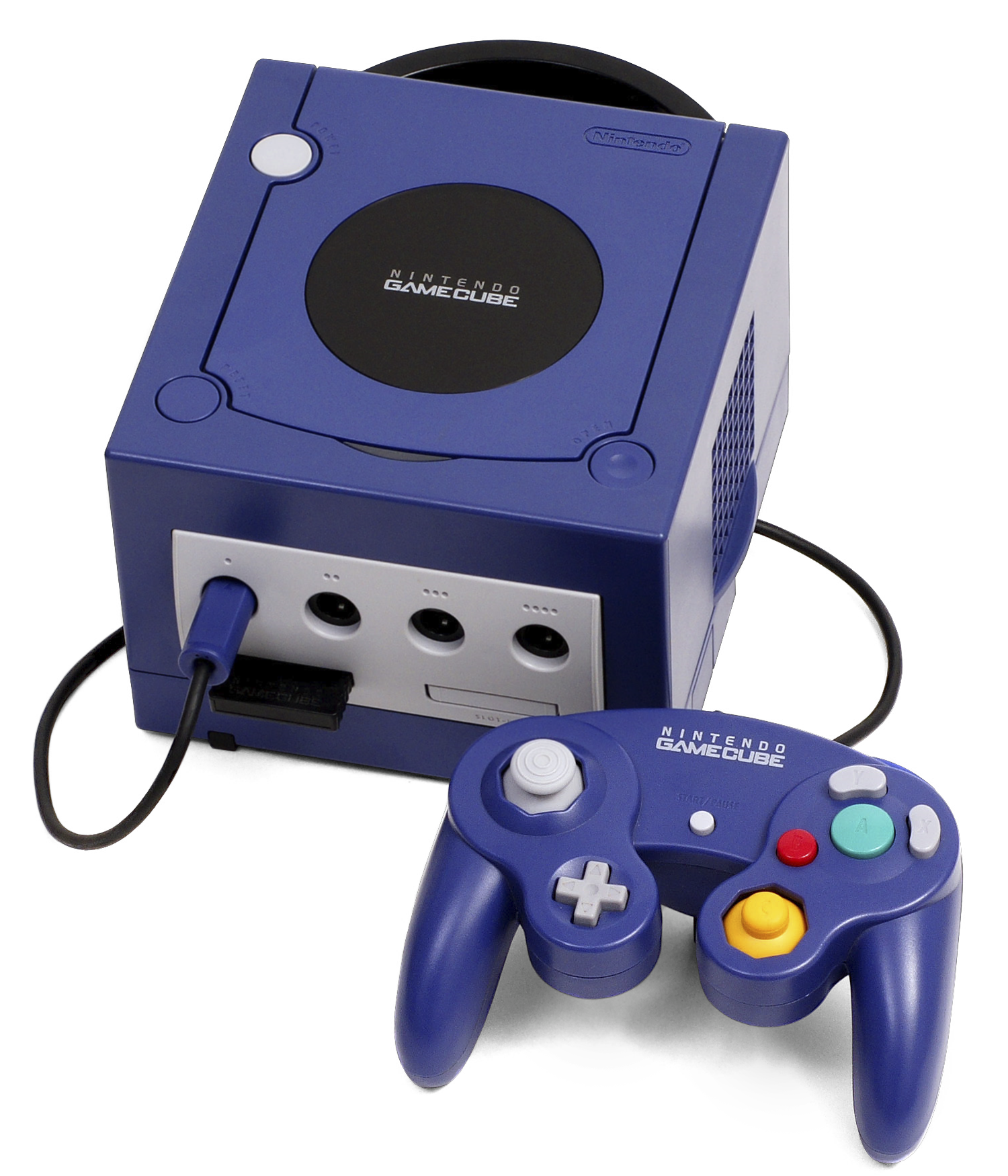 File gamecube wikimedia commons - Console plexiglas transparent ...