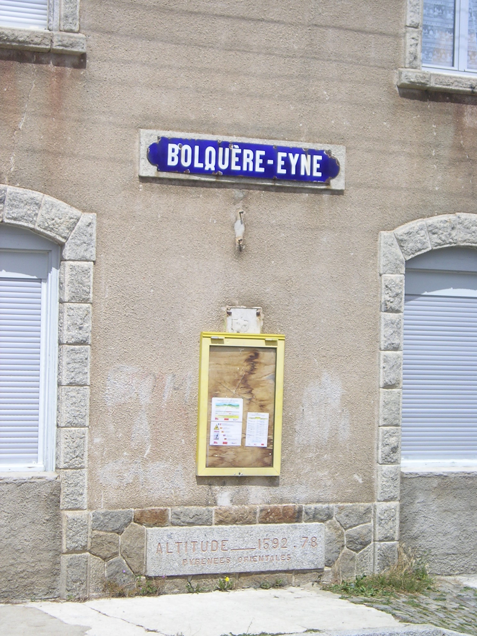 Estació de Bolquera-Eina