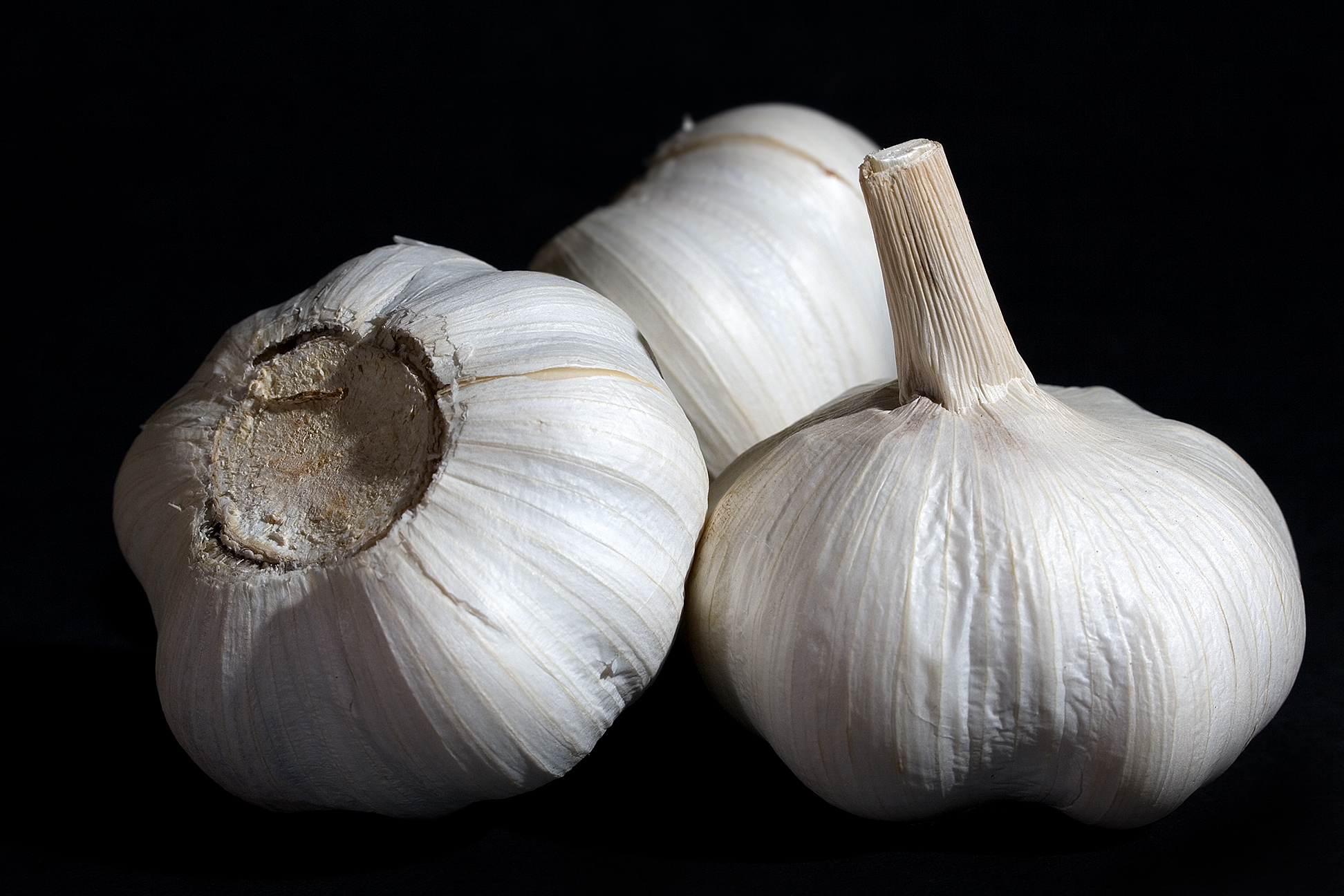 Image result for garlic black background