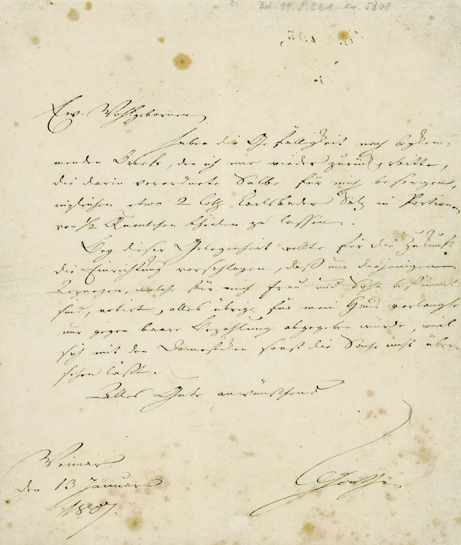 Briefe Von Goethes Mutter : File goethe brief an carl august hofmann g