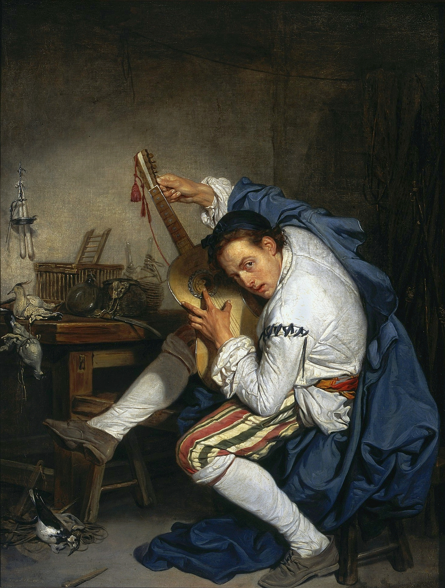 Guitarist Painting File:Greuze Guitarist....