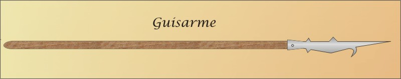 Guisarme Weapon Guisarme polearm weaponGuisarme Weapon