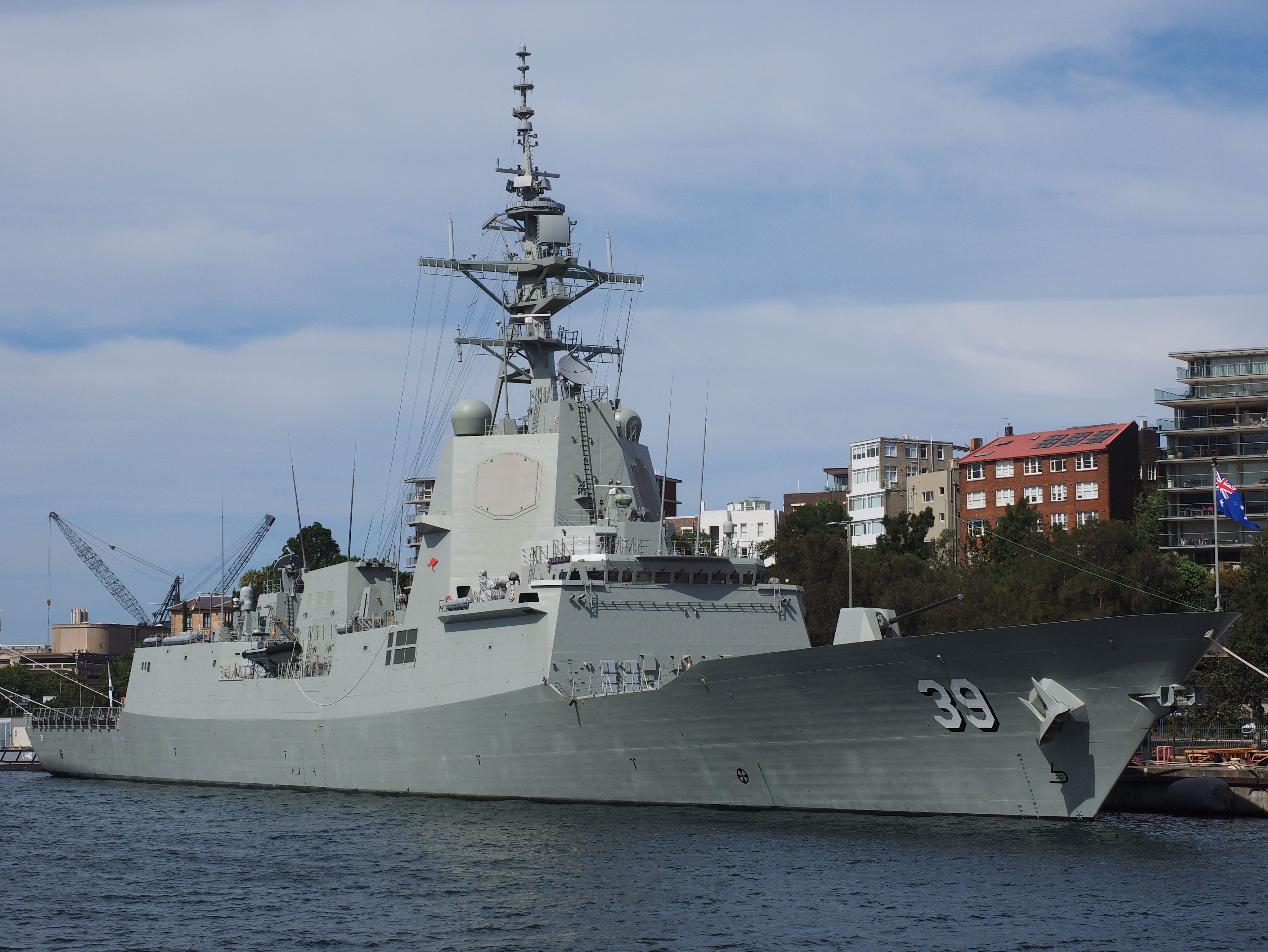 Hobart-class destroyer - Wikipedia