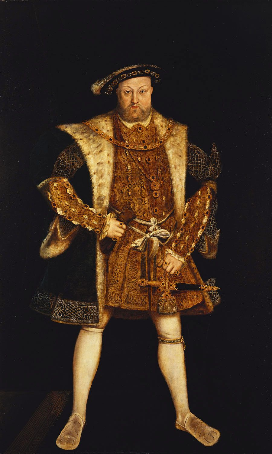 What did king henry viii look like 10