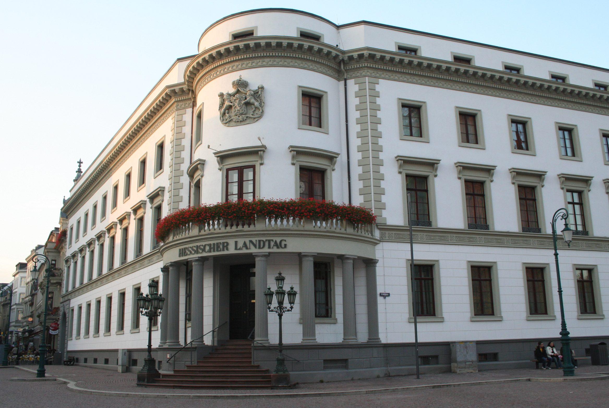 Bb Wiesbaden file hessischer landtag in wiesbaden jpg wikimedia commons