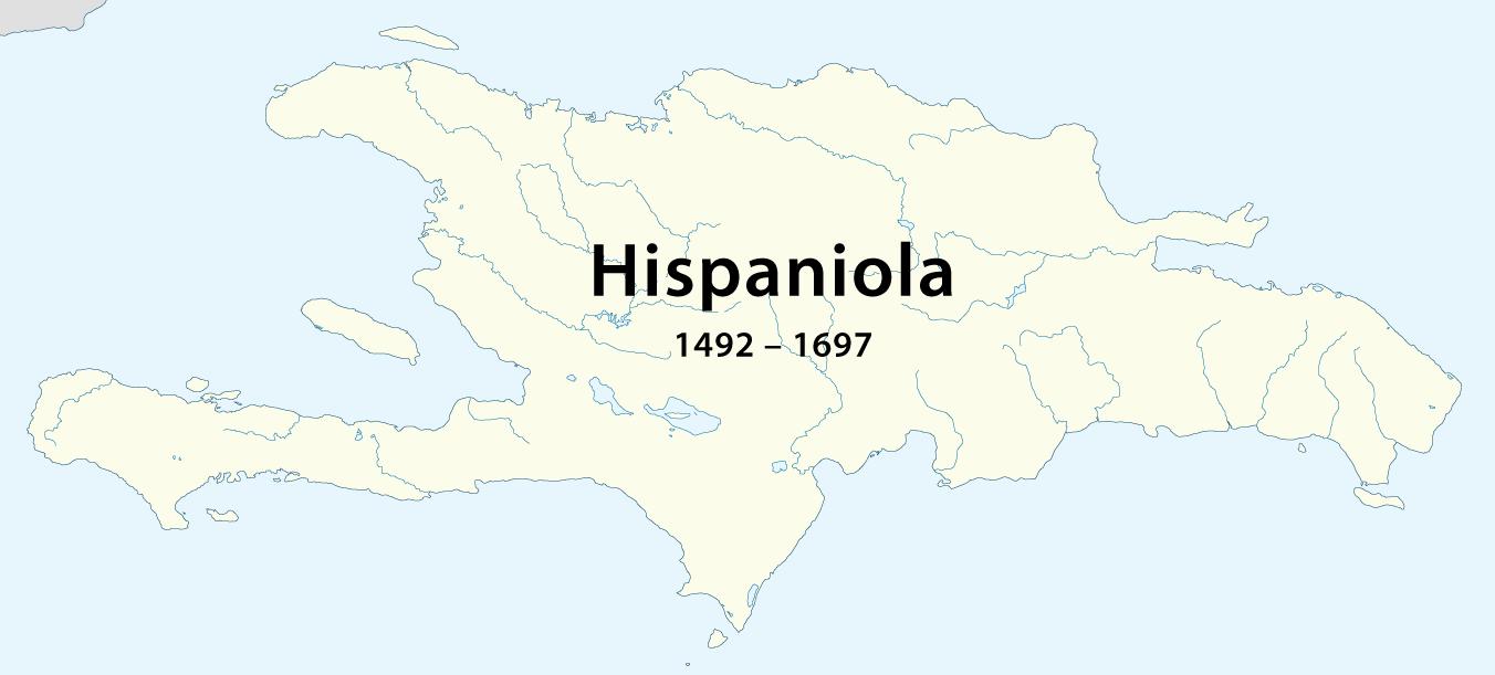 File Hispaniola 1492 1697 Png Wikimedia Commons