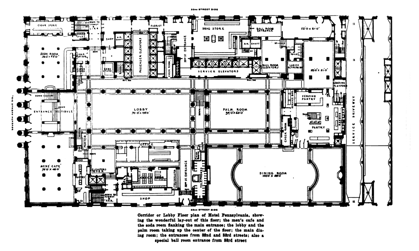 Hotel Floor Plans Luxury Villa
