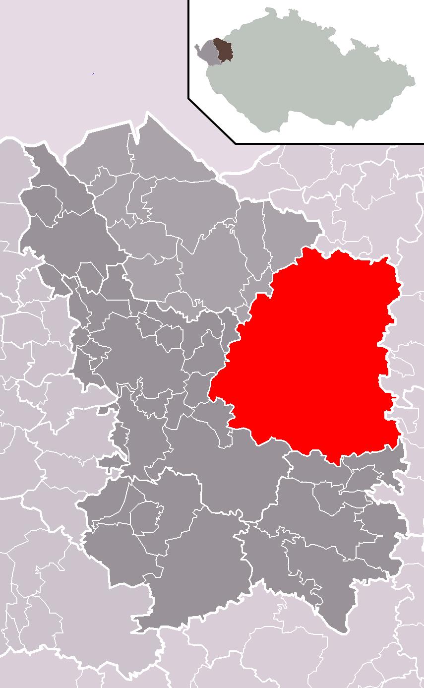 Hradiště locator map