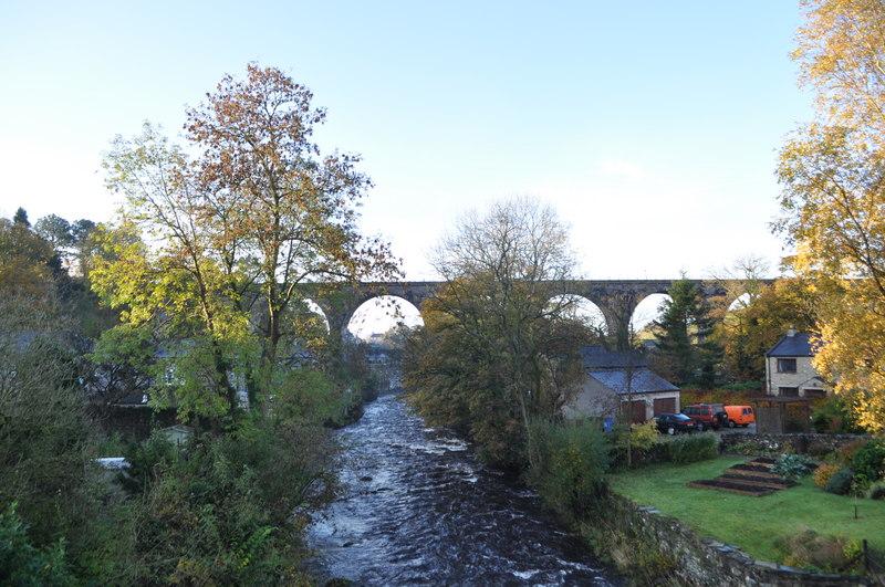 Ingleton Viaduct - geograph.org.uk - 2138880