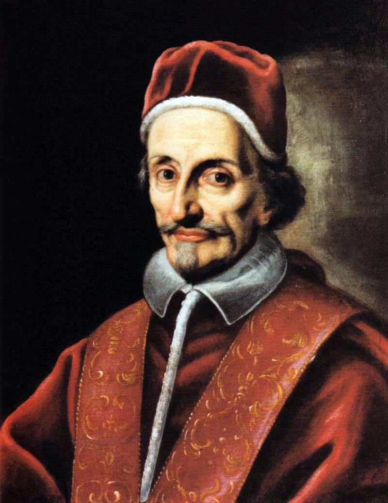 Depiction of Inocencio XI