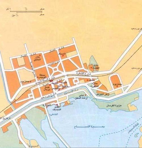 خريطة المحافظة السياحية