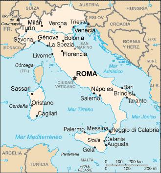 Lugares del mundo: Italia