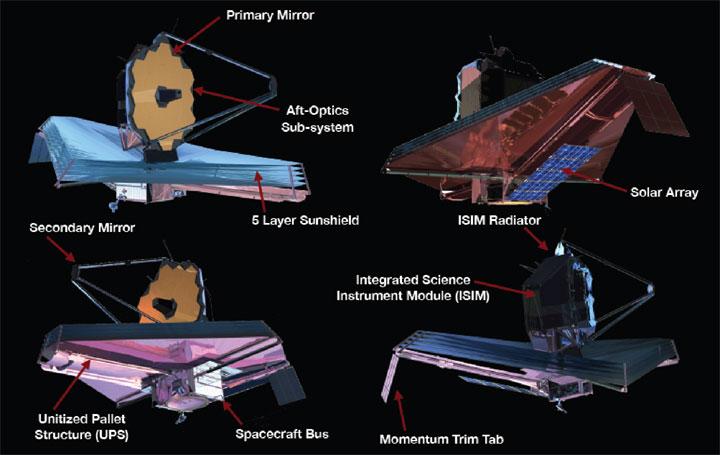 James Webb-teleskopet.