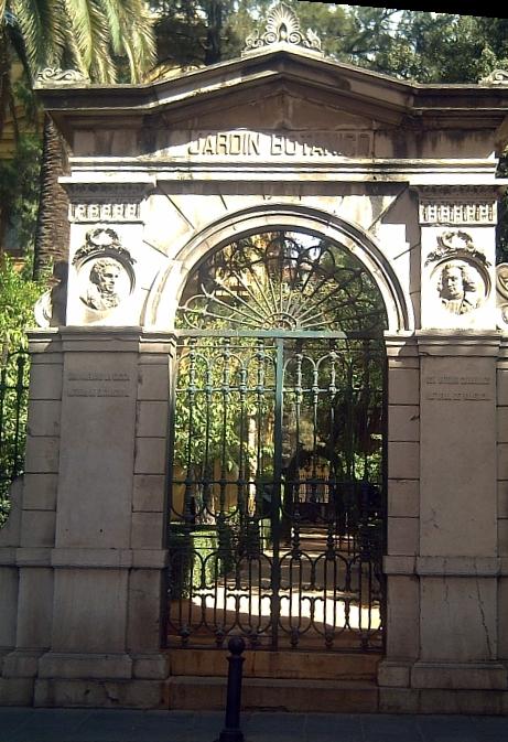 Jard n bot nico de la universidad de granada wikipedia for Ciudad jardin granada