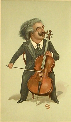 Karikatuur van Joseph Hollman (Vanity Fair, 2 dec. 1897)