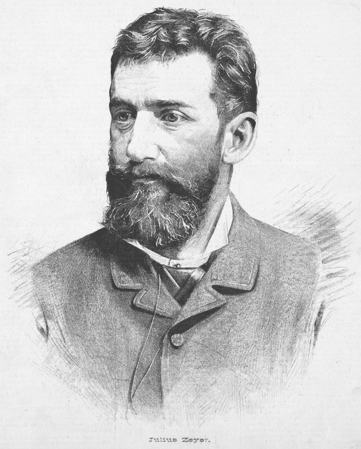 Portrait of Julius Zeyer by [[Jan Vilímek]]