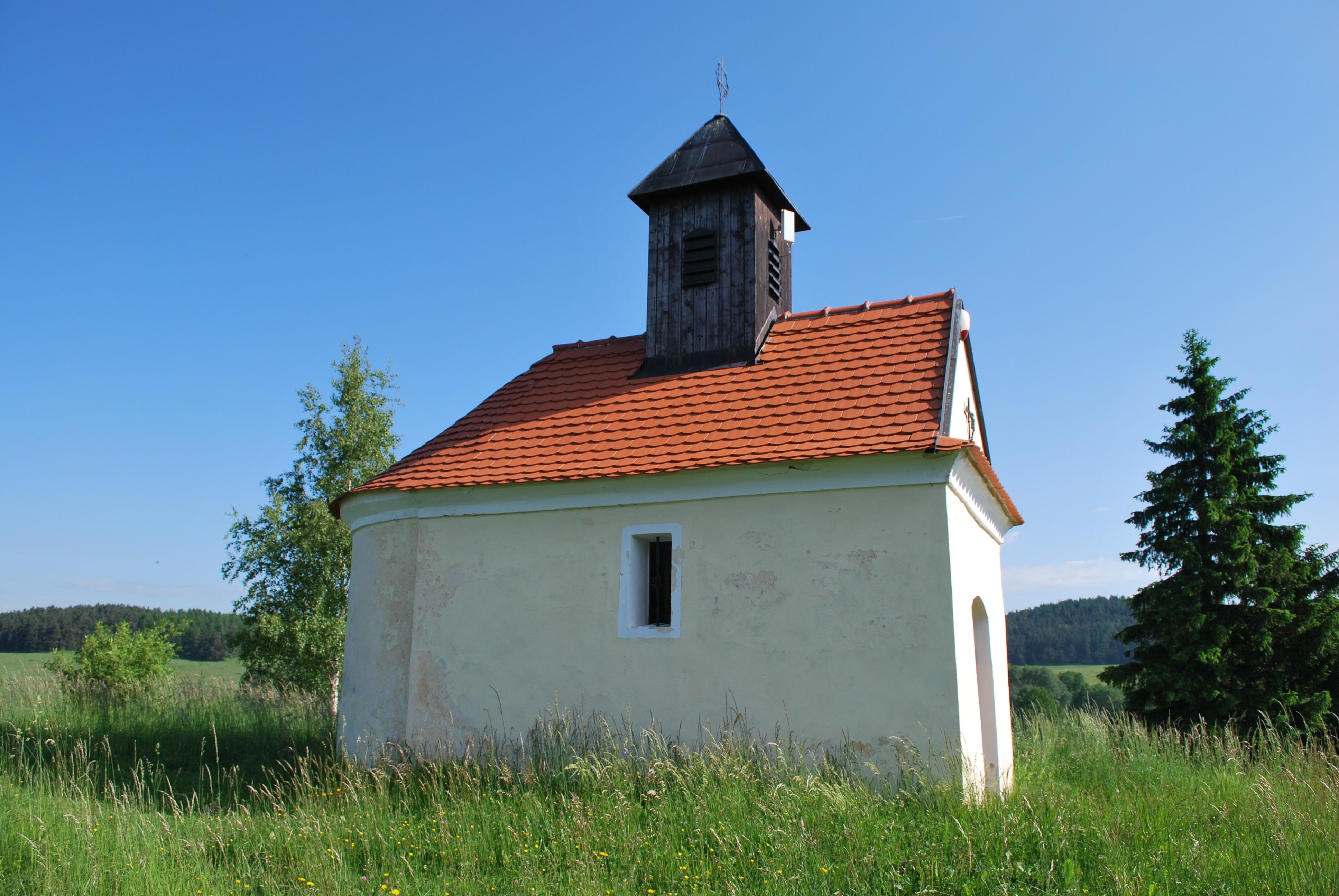 Detailní pohled na kapli sv. Antonína