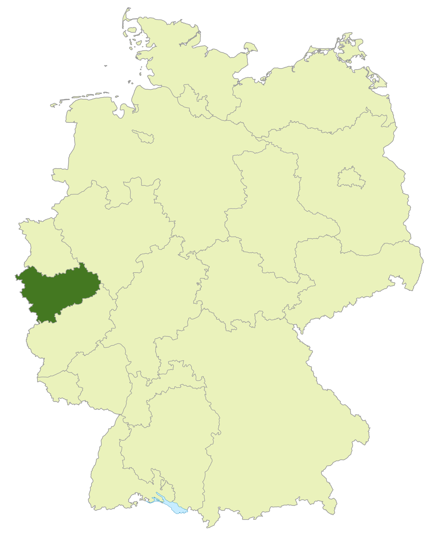 Gebiet der Landesliga Mittelrhein