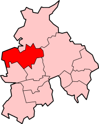 Shown within non-metropolitan Lancashire