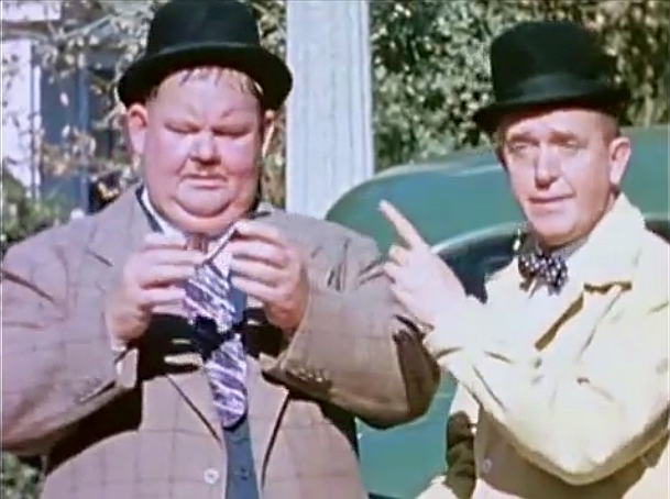 File:Laurel and Hardy, Still from The Tree in a Test Tube.png