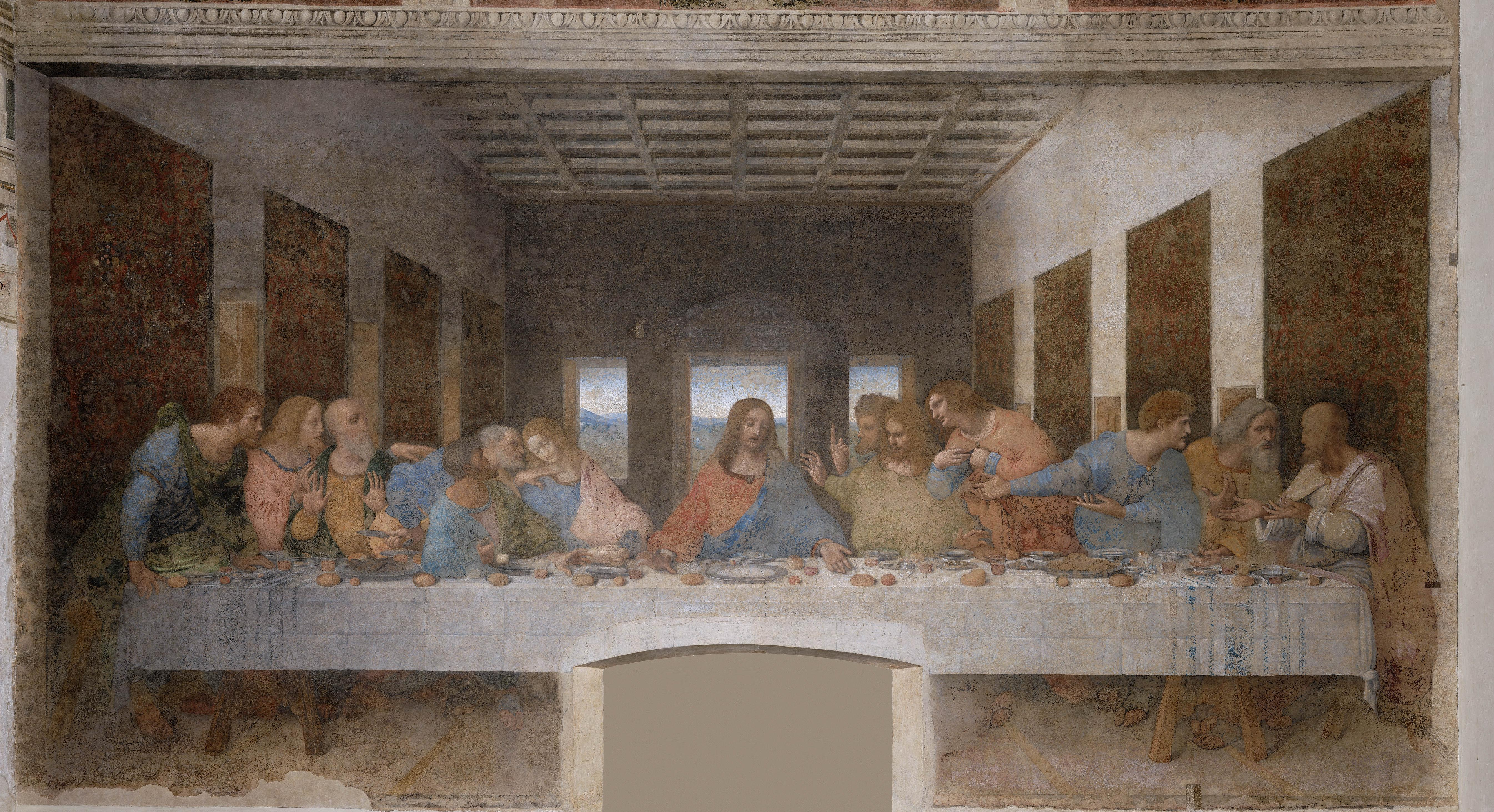 Why cooking was the original artform – and is still the ... Da Vinci Last Supper High Resolution