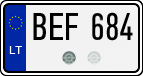 License plate from Lithuania US size.png