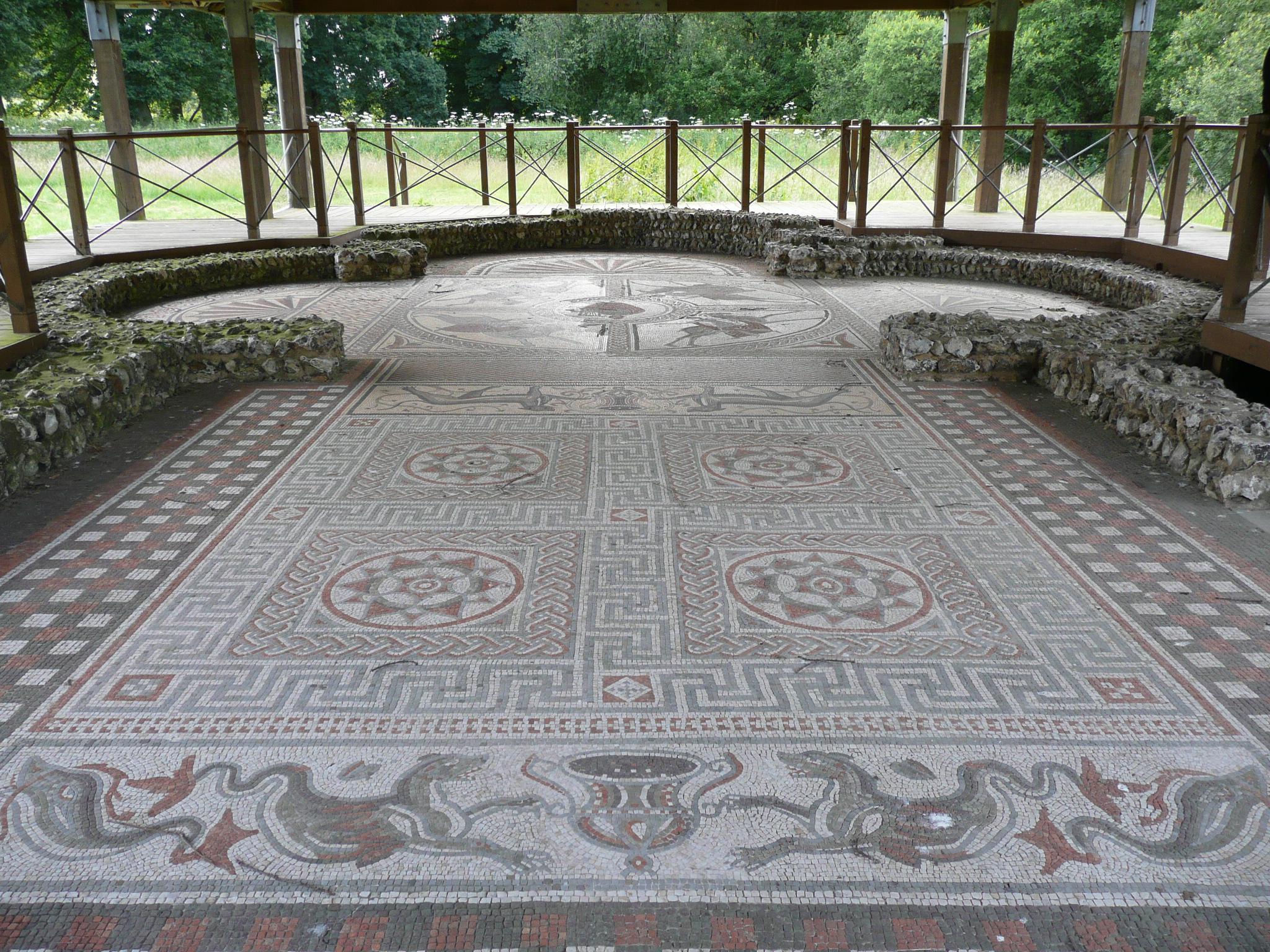 Roman Villas In Wiltshire