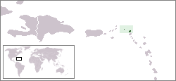 Location of Anguilla