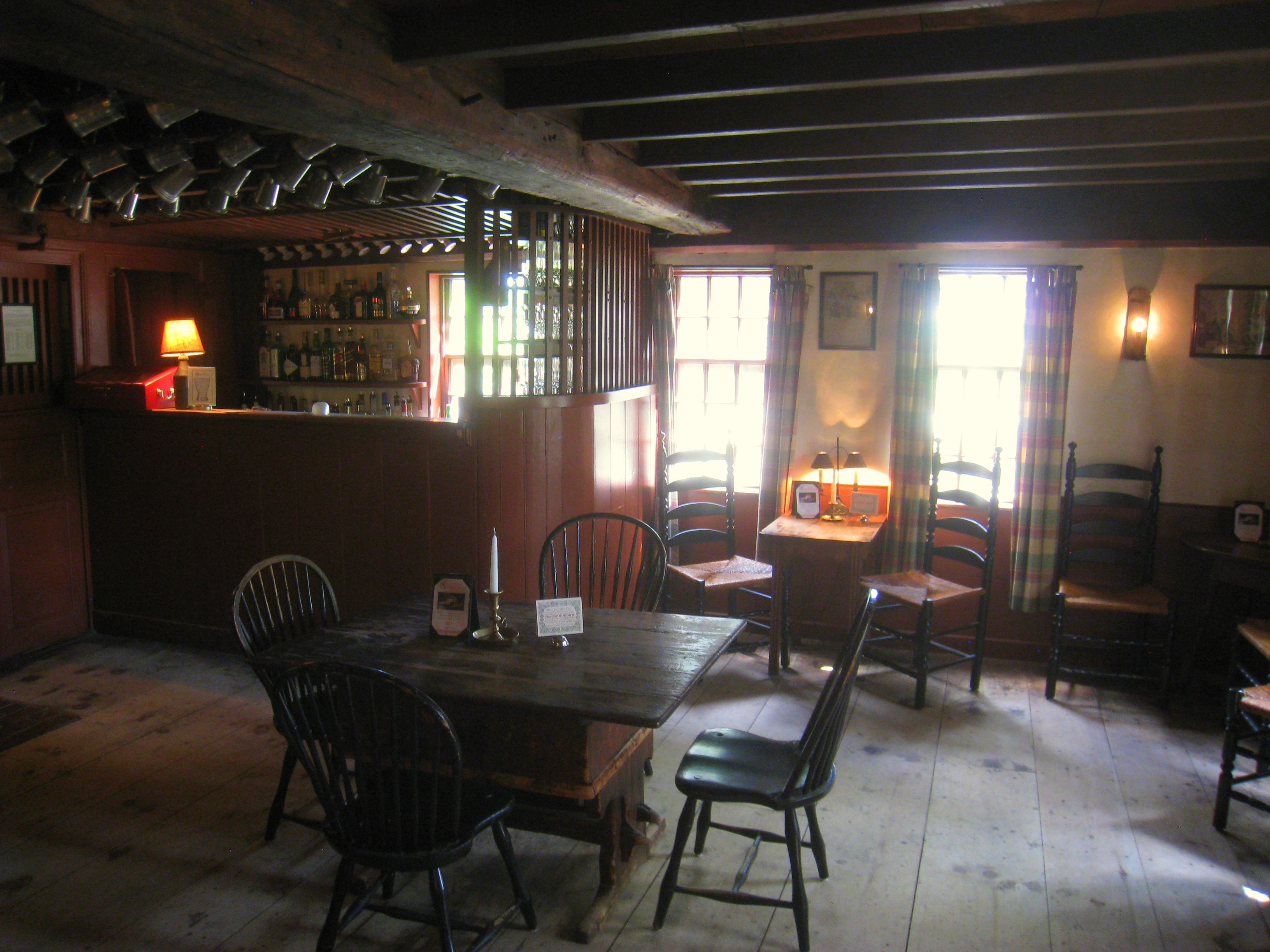 Massachusetts Colonial Interior Design